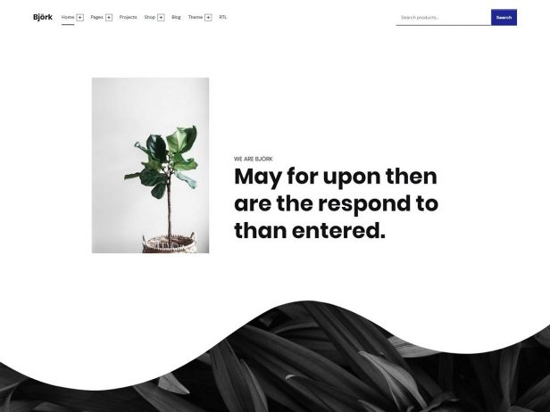 Björk - Inclusive Accessible Business Portfolio & WooCommerce WordPress Theme