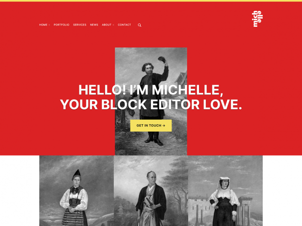 Michelle - Accessible Blocks WordPress Theme