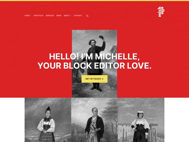 Michelle - Accessible Blocks WordPress Theme