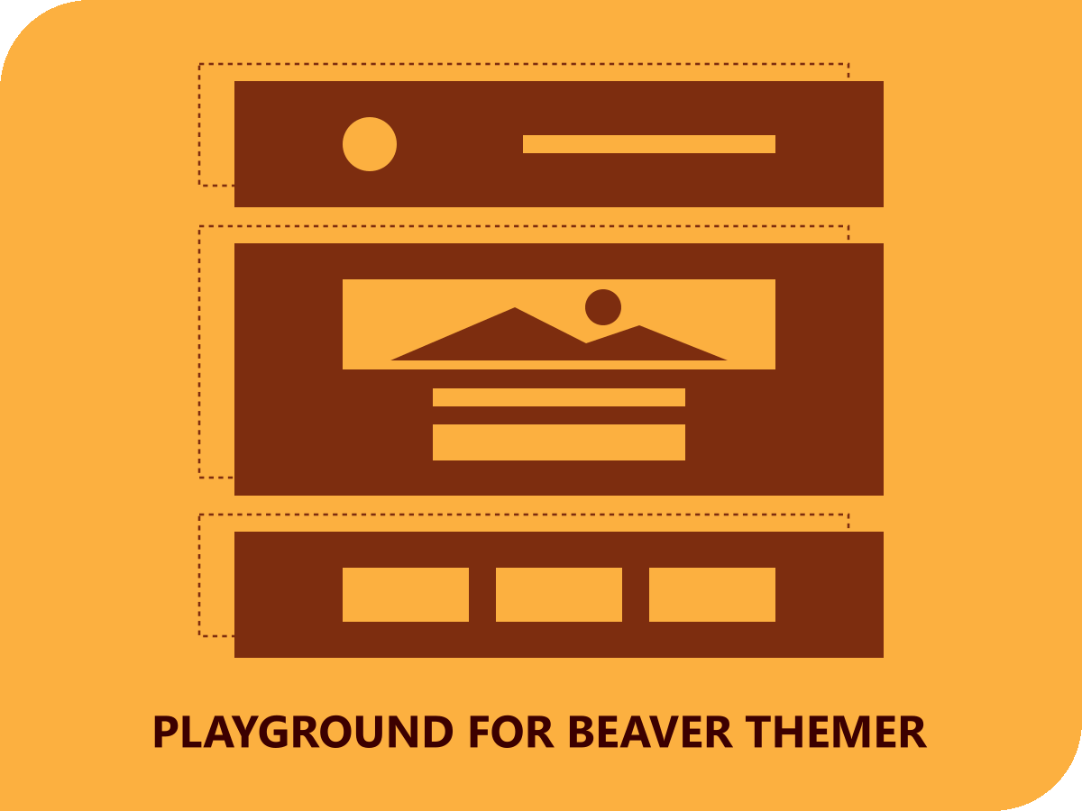 Playground for Beaver Themer bare-bone WordPress theme