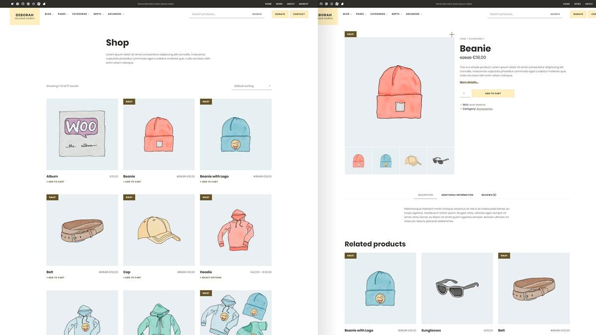 WooCommerce Theme Integration WordPress plugin